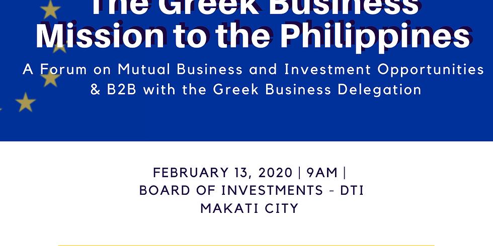 Greek Business Mission