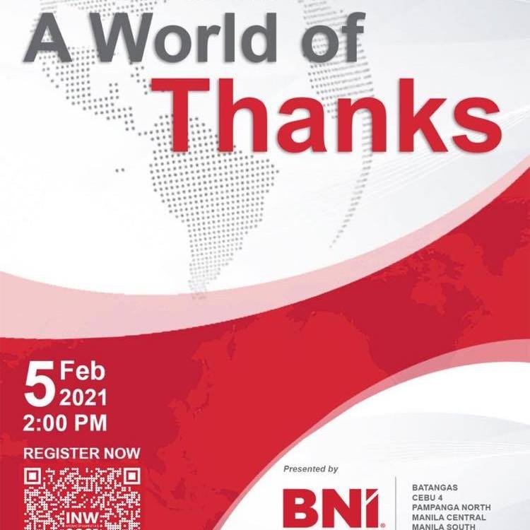 Settimana internazionale del networking: un mondo di grazie