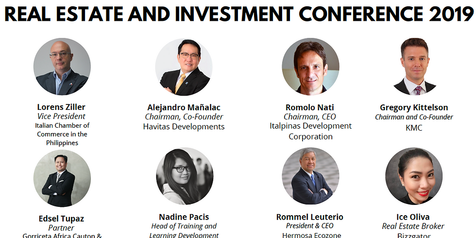Real Estate and Investment Conference 2019