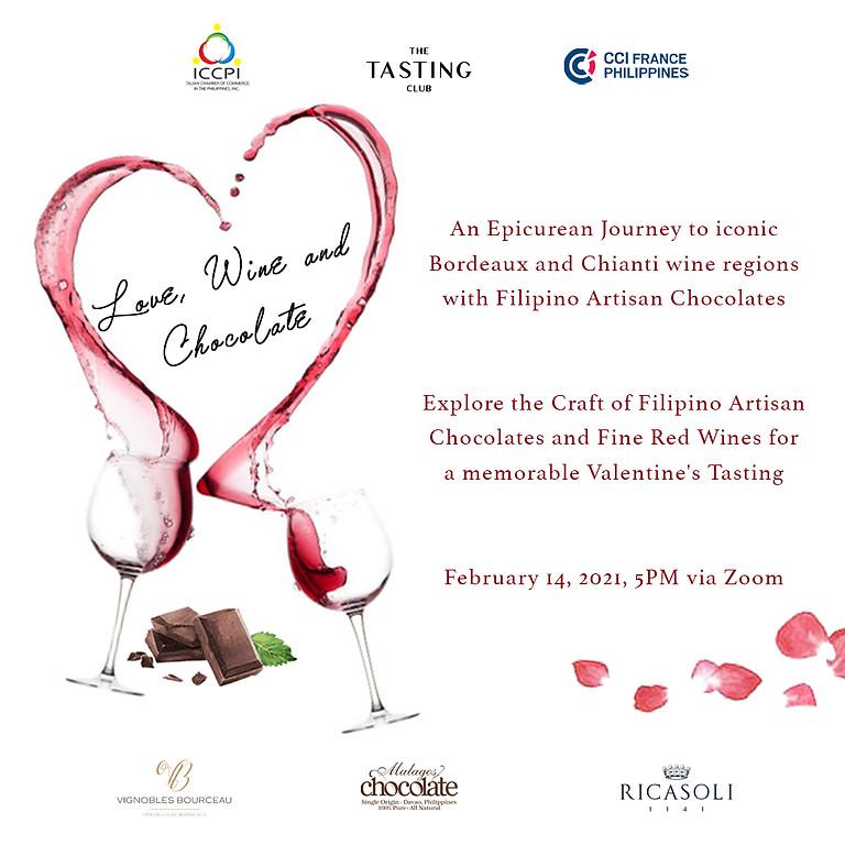 Amore, vino e cioccolatini