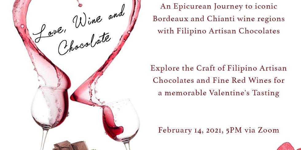 Love, Wine, and Chocolates