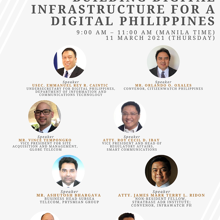 Building Digital Infrastructure for a Digital Philippines