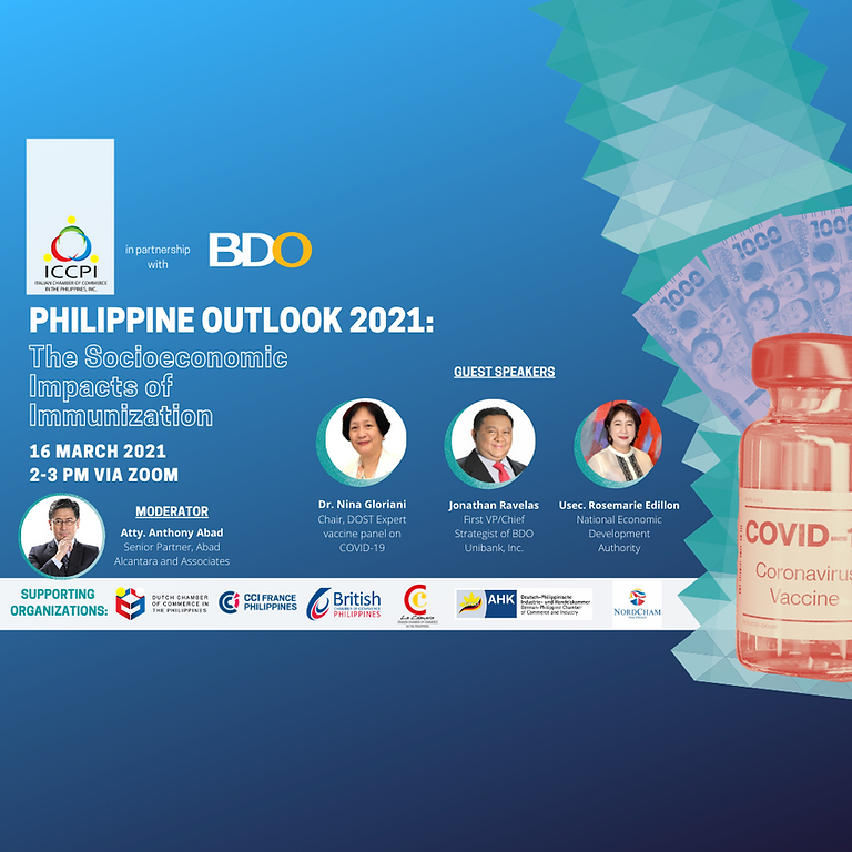 Philippine Outlook 2021: The Socioeconomic Impacts of Immunization