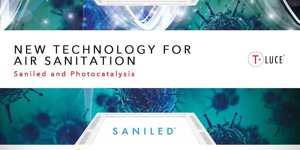 New Technology for Air Sanitation, Saniled and Photocatalysis
