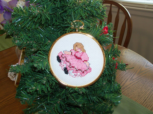 Christmas Doll  Ornament