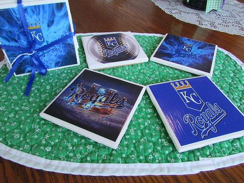 Kansas City Royals Coasters
