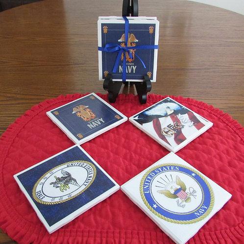 U. S. Navy Coasters Set