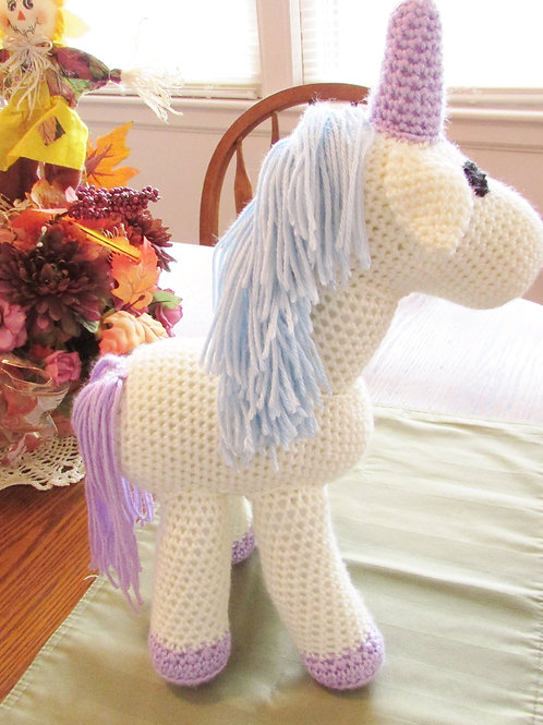 Crocheted Unicorns