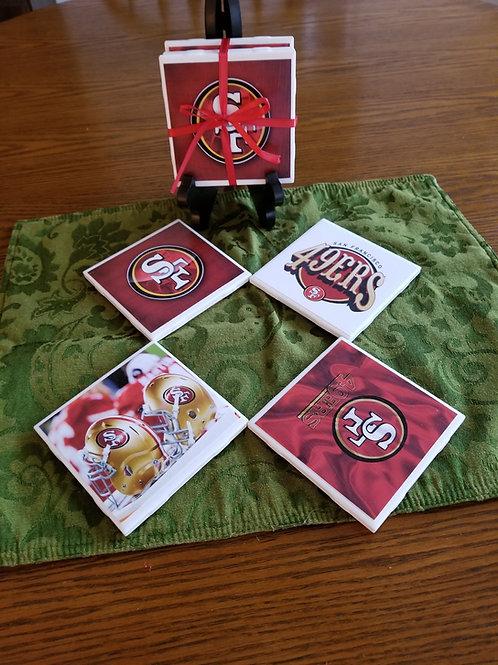 San Francisco 49'ers Coasters