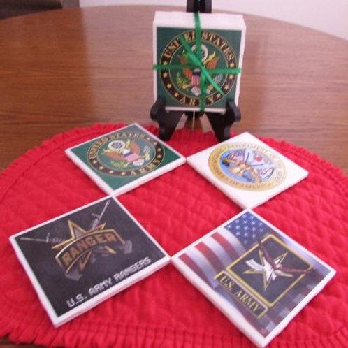 U. S. Army Coasters