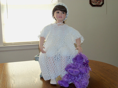 Christening Gown - Offet Shell