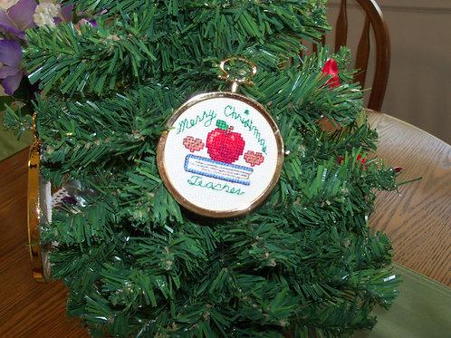Christmas Teacher  Ornament