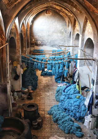 One Day in the Life of a Dye House