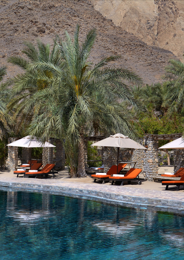 Six Senses Zighy Bay, the only Six Senses resort in the Middle East, nestled in the Hajar mountains of Musandam, Oman.