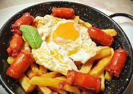 huevos patatas y chistorra