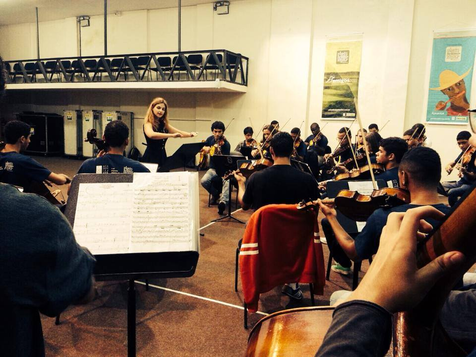 Working on Mozart in Rio
