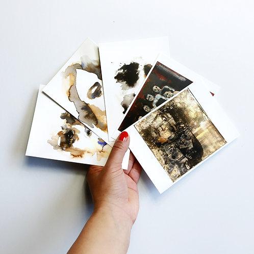 """5 Postcards """"Family Album I"""""""