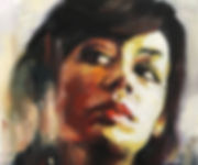 Contemporary oil painting