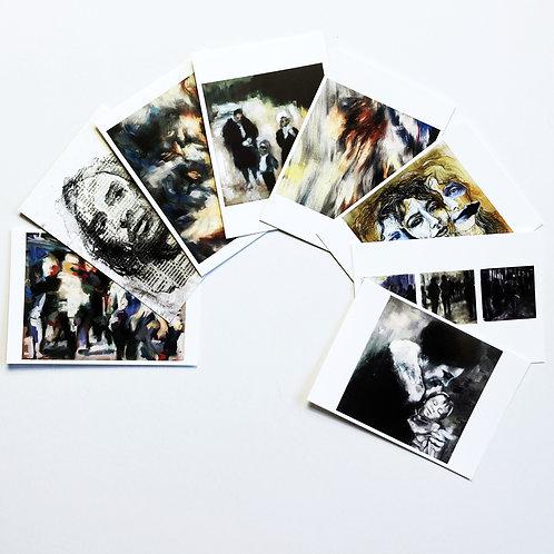 8 Postcards Mix II