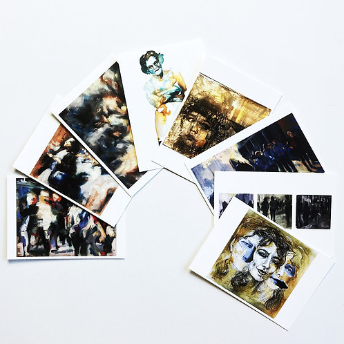 8 Postcards Mix 1