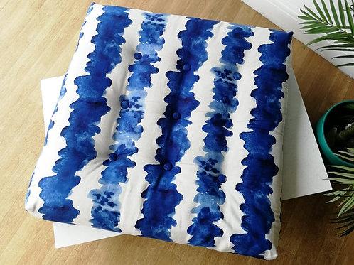 'Waves' - French Floor Mattress featuring local Bristol fabric designer