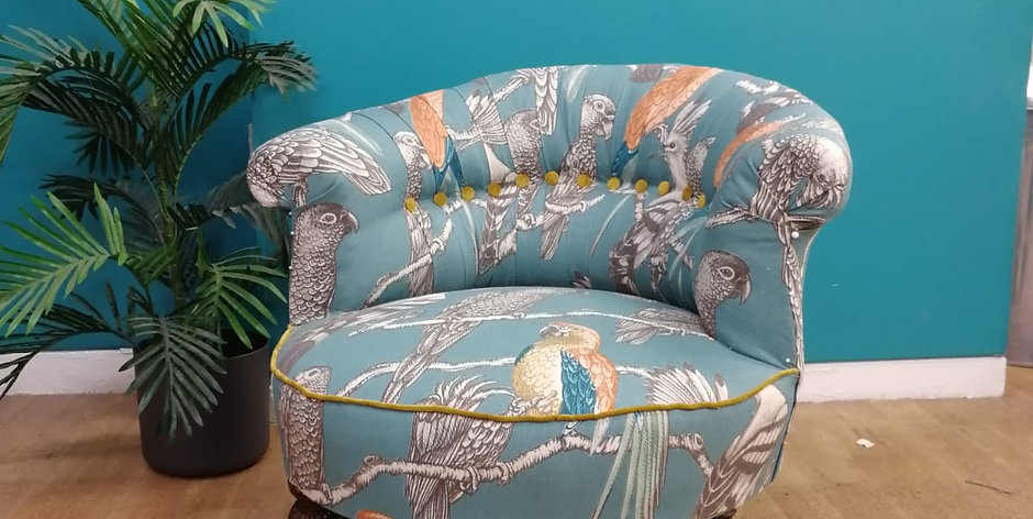Beginners Upholstery Wednesday 9th September 2020  -  6 week term block