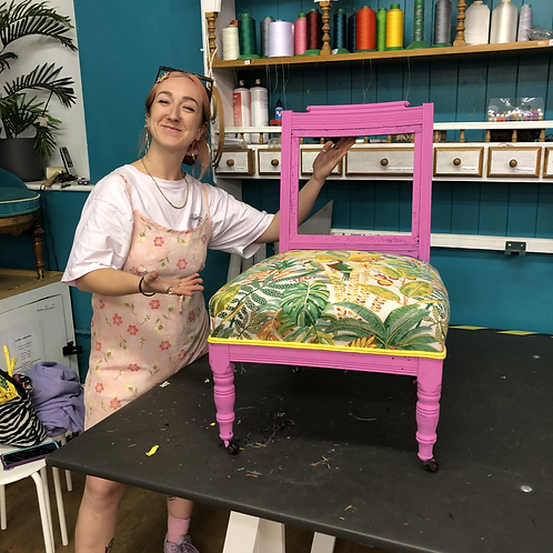 Beginners Upholstery Tuesday 25th October 2022 - 6 week term block