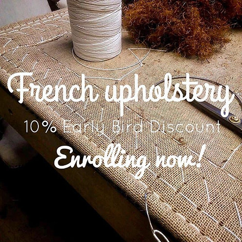 French Upholstery Master Class POSTPONED