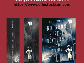 New! Custom Bookmark when you buy an autographed book.