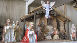 Nativity Set in Brighter colors