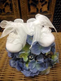 Organza Christening /Baptism Shoe