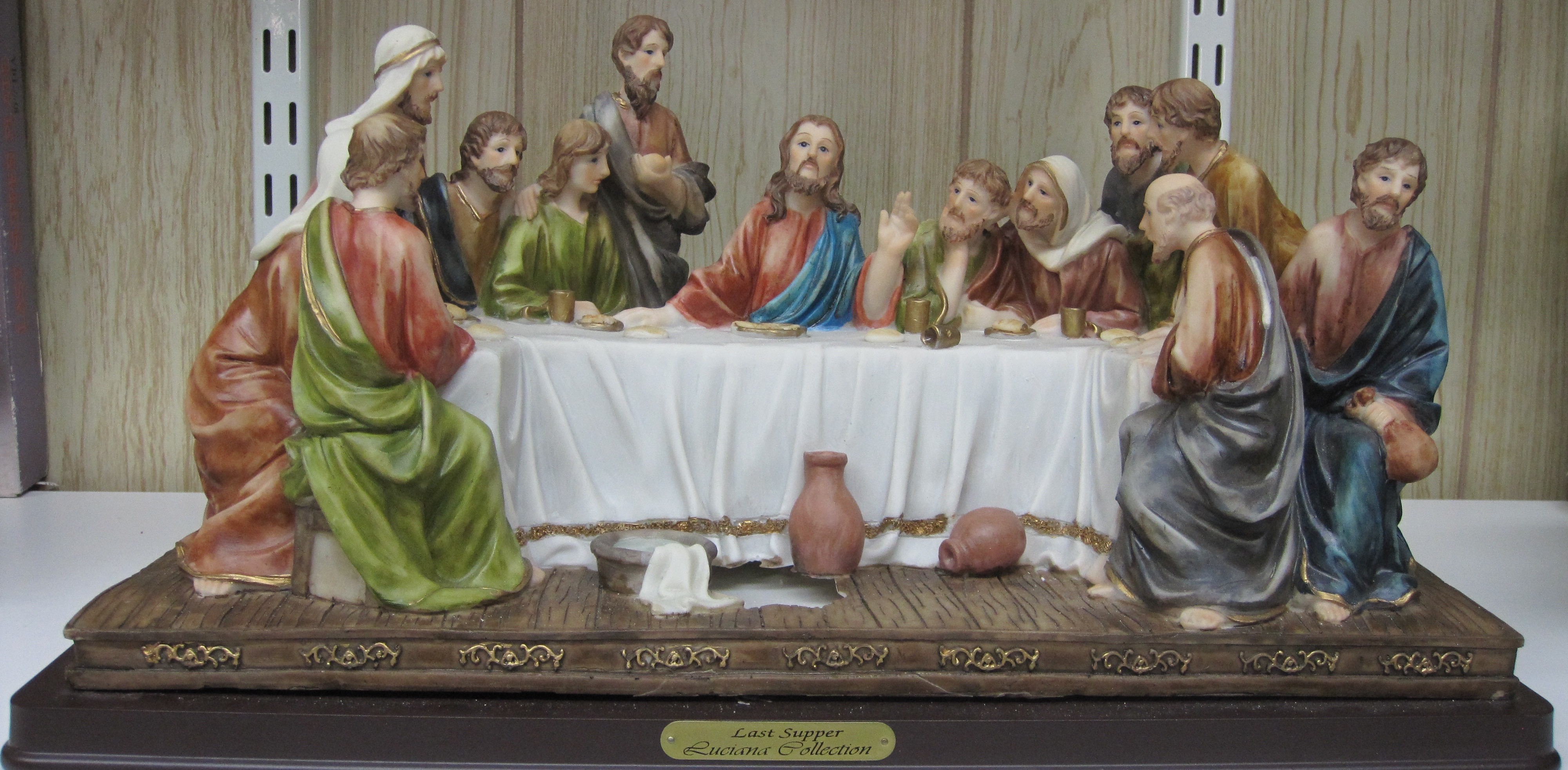 The Last Supper Display