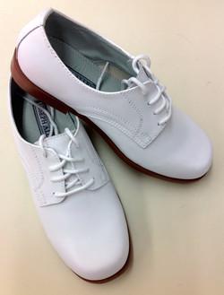 Boys' White Dress Shoe