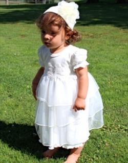 Ruffled Garden Dress