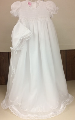 Girl Baptism Gown