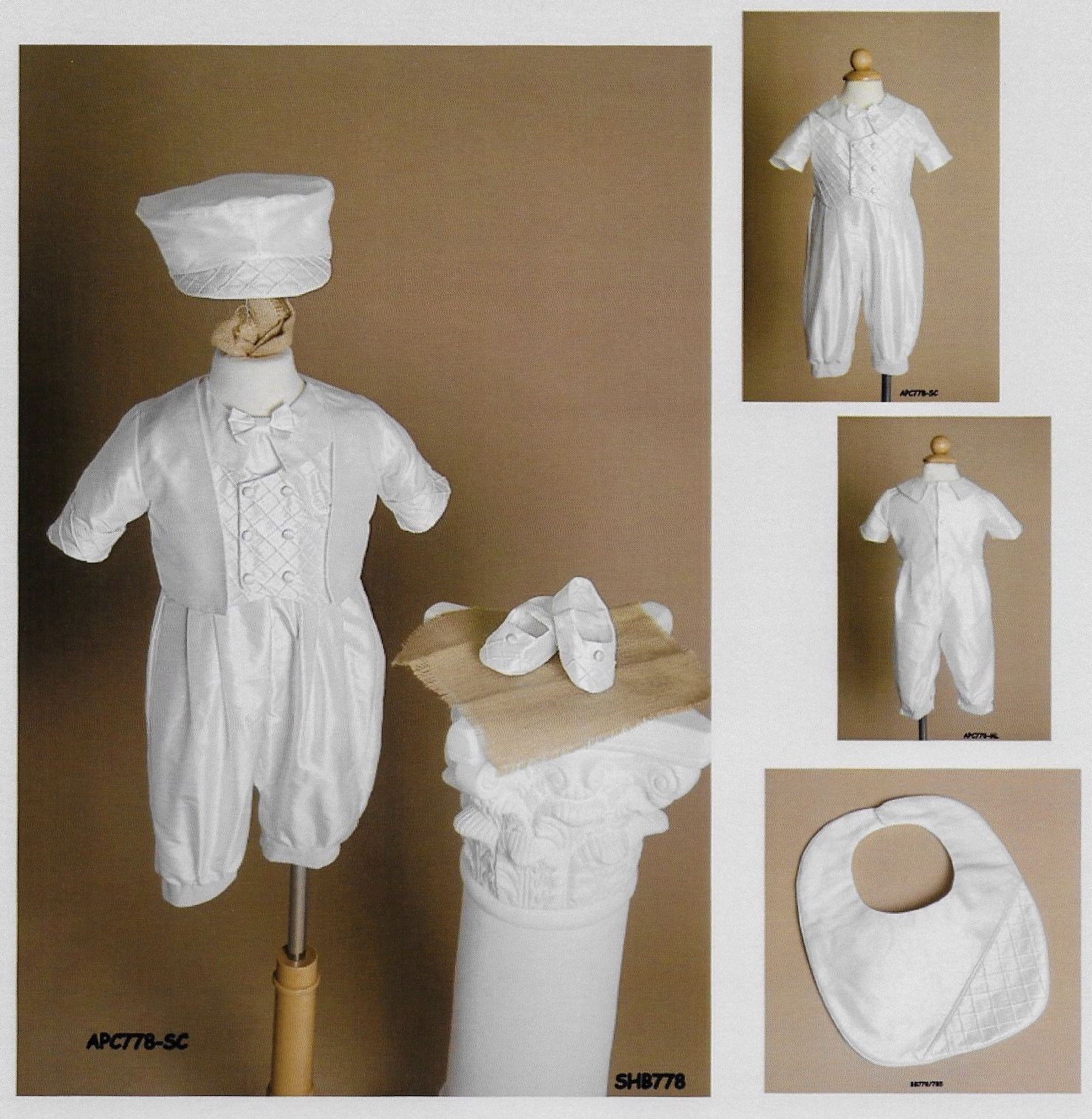 Boy's Silk Baptism Outfit