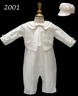 Boy's Silk Christening/Baptism Suit