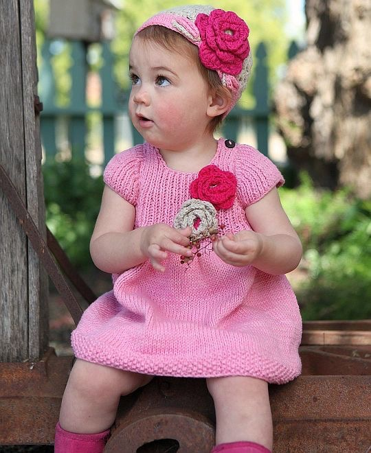 Hand Knit Set