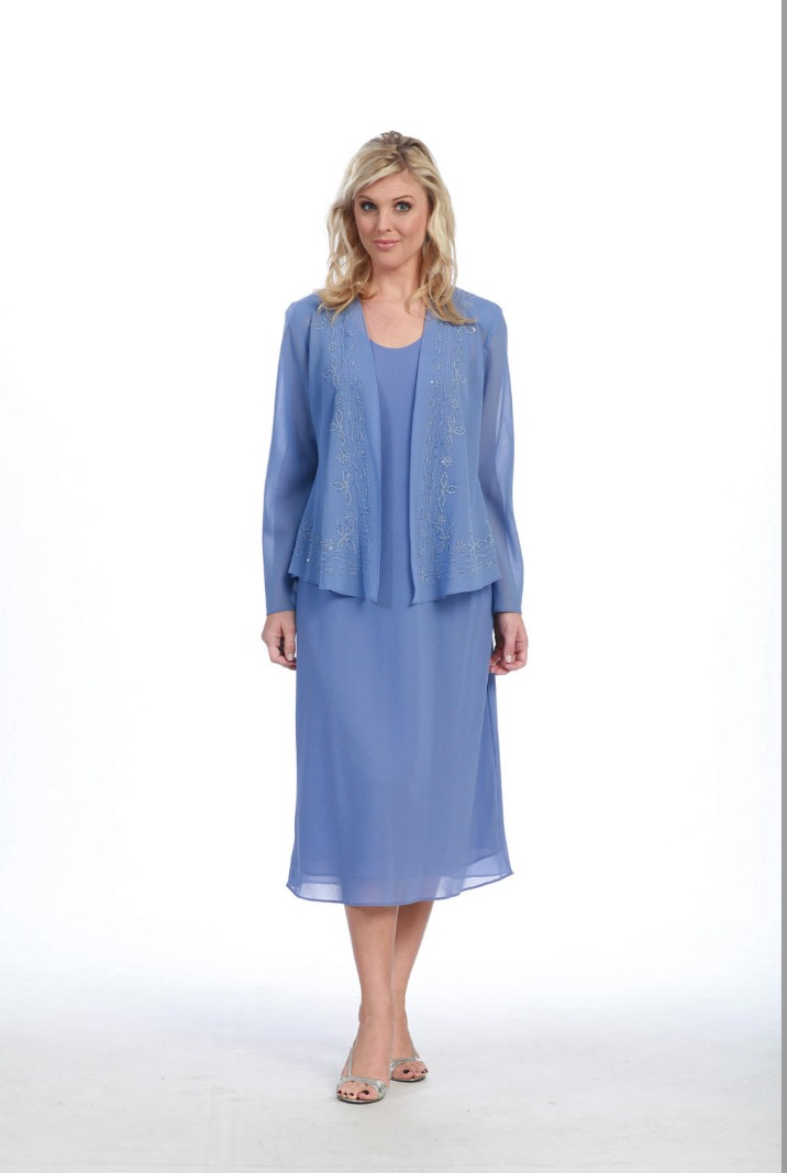 Georgette Two Piece Dress
