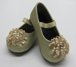 Gold Ballet Style with Flower
