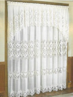 Lace Curtain Set