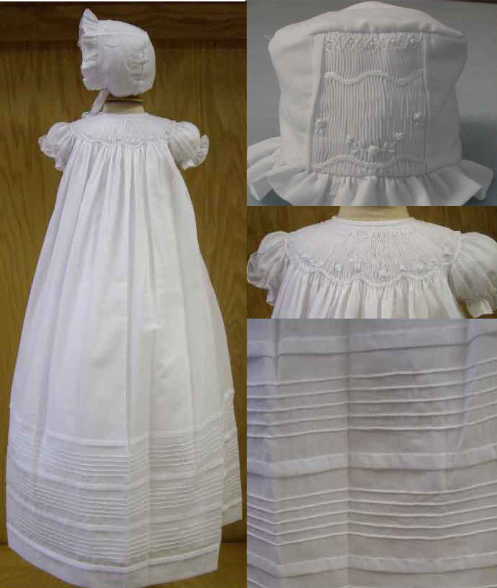 Will'Beth Christening/Baptism Gown