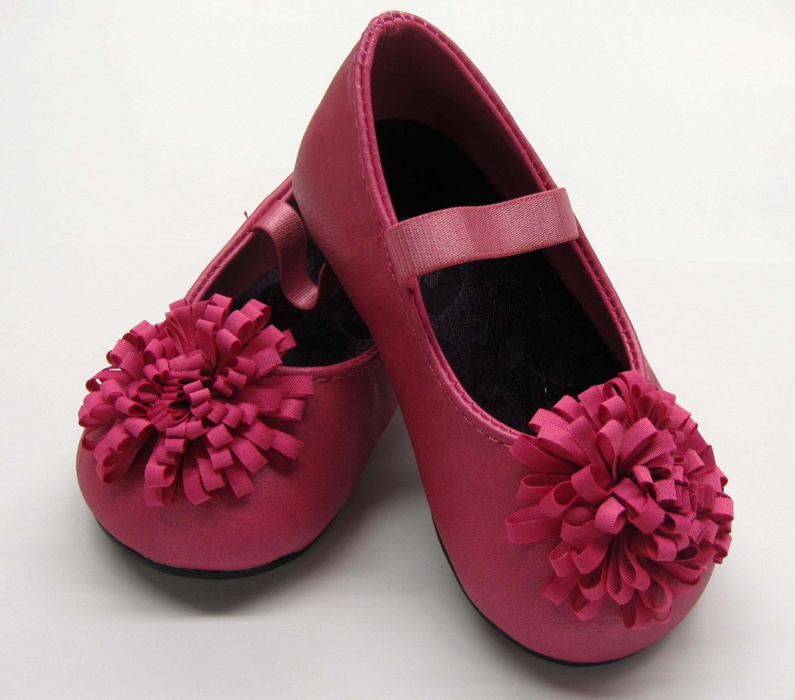Hot Pink Ballet Flat