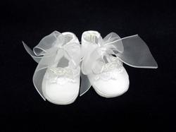 White Crib Shoes