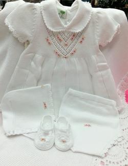 100% Cotton Knit Dress Set