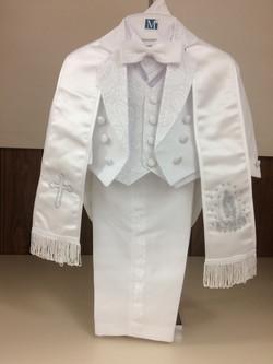 Boy Baptism Suit