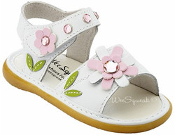White Crystal Sandal