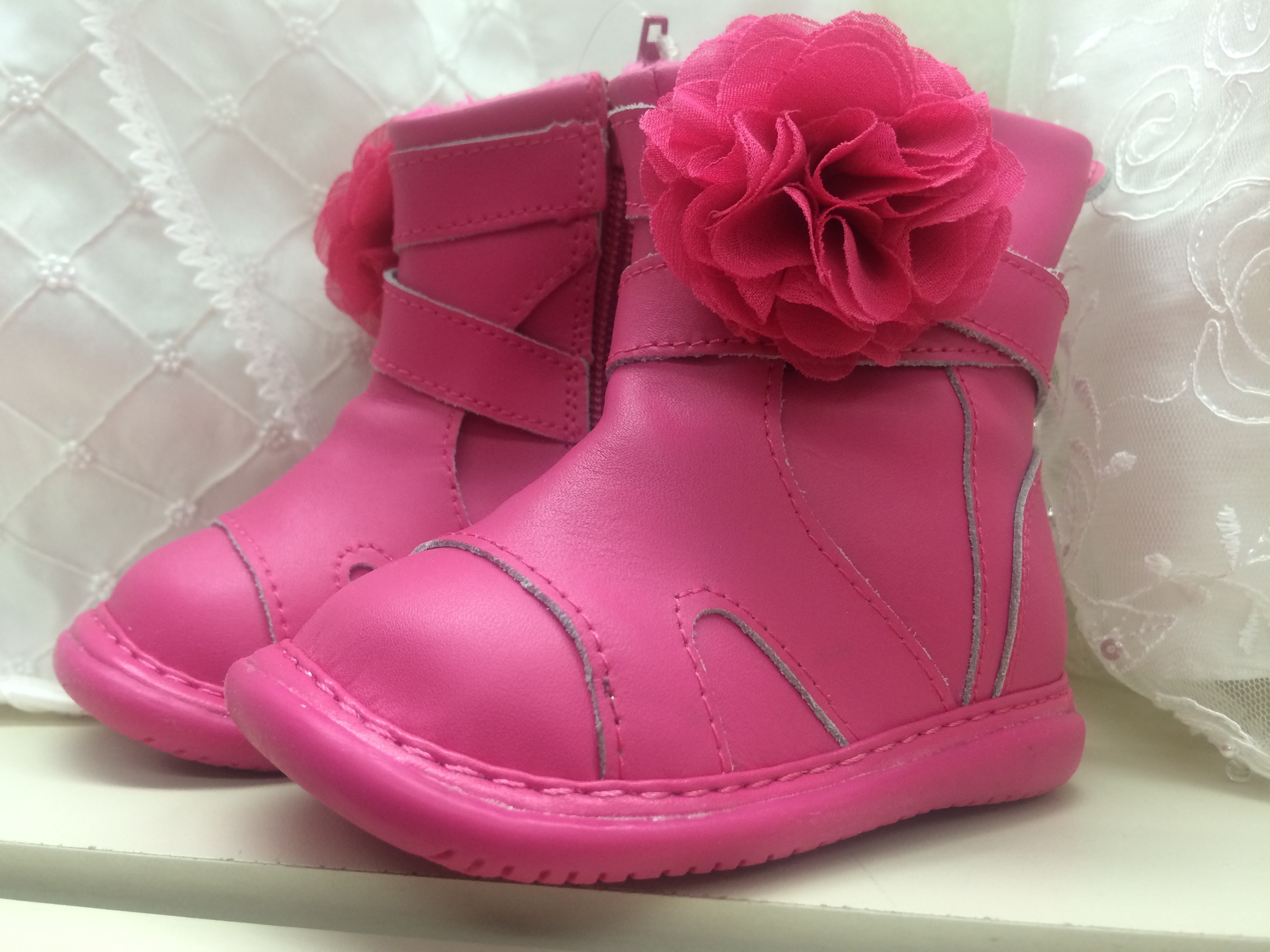 Girl's Pink Boot