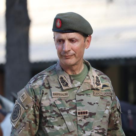 Homenaje del Jefe Del Estado Mayor General del Ejército Argentino