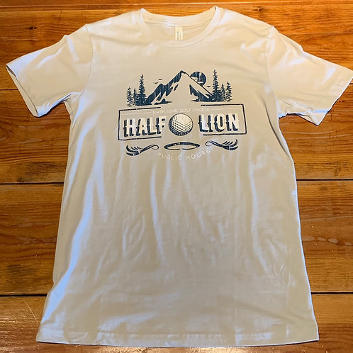 White Golf Ball Graphic Tee